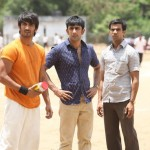 The three musketeers in Kai Po Che: Sushant Singh Rajput, Amit Sadh and Raj Kumar Yadav