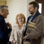 Robert De Niro, Jacki Weaver and Bradley Cooper in Silver Linings Playbook