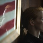 Jessica Chastain for country and for obsession in Zero Dark Thirty