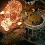 The White House being pummeled to the ground in Olympus Has Fallen