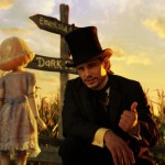 China Girl and James Franco as the Wizard in Oz the Great and Powerful