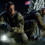 Channing 'Mumbles' Tatum and The Rock in GI Joe Retaliation