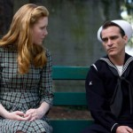 Joaquin Phoenix with an old flame in The Master