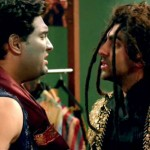 Ayushmann Khurrana and Kunal Roy Kapoor: A scene from the movie Nautanki Saala