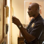 Morris Chestnut as Jordan's (Halle Berry) beefy bf cop in The Call