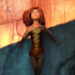 Eep (voiced by Emma Stone) in The Croods
