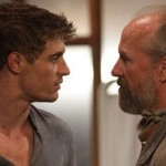 Max Irons and William Hurt in The Host