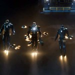The troops in Iron Man 3
