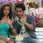 A scene from the movie Nautanki Saala