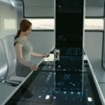 Actor Andrea Riseborough in Oblivion
