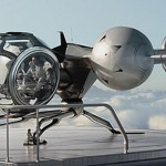 The space copter in the movie Oblivion