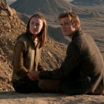 Saoirse Ronan and Jake Abel in the movie The Host