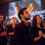 Riz Ahmed and Kate Hudson in The Reluctant Fundamentalist