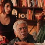 Meesha Shafi, Om Puri and Shabana Azmi in The Reluctant Fundamentalist