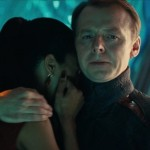 Mr Scott comforting Uhura... but who is it that has died? Or have they?