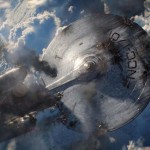 The Enterprise takes a pounding but does it fall... Star Trek Into Darkness