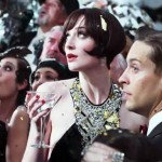Isla Fisher and Tobey Maguire in The Great Gatsby