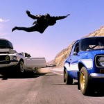 Tyrese Gibson flying in Fast & Furious 6