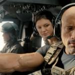 Gina Carano and Dwayne 'The Rock' Johnson in Fast & Furious 6
