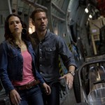 Jordana Brewster and Paul Walker in Fast & Furious 6
