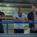 Dwayne Johnson, Vin Diesel and Paul Walker in Fast & Furious 6