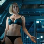 Alice Eve gives us a treat in Star Trek Into Darkness