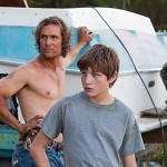 Tye Sheridan and Matthew McConaughey in the movie Mud