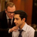 Actors Keifer Sutherland and Riz Ahmed in the movie The Reluctant Fundamentalist