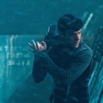 Zachary Quinto is out and about as Spock in Star Trek Into Darkness