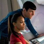 A love story of a different kind between Uhura and Spock in Star Trek Into Darkness