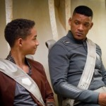 Jaden Smith and daddy Will Smith in After Earth