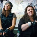 Ready for action: Sandra Bullock and Melissa McCarthy channel Rambo in The Heat