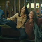 Some of the many antics by Sandra Bullock and Melissa McCarthy in The Heat