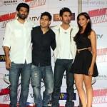 Launch of Yeh Jawaani Hai Deewani with Aditya Roy Kapur, Director Ayan Mukerji, Ranbir Kapoor and Deepika Padukone