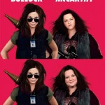 The controversial before and after photoshopped Melissa McCarthy poster of The Heat