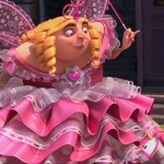 Gru plays the fairy princess in Despicable Me 2