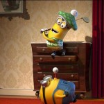 The Minions at play in Despicable Me 2