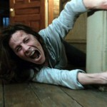 Lili Taylor being pulled across the floor (like we haven't seen that a trillion times before) in The Conjuring