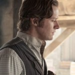 Armie Hammer and Ruth Wilson in The Lone Ranger movie