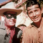 The original Lone Ranger and Tonto from the TV series