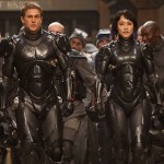 Charlie Hunnam and Rinko Kikuchi in the movie Pacific Rim