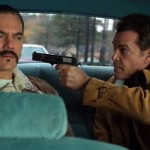 Michael Shannon and Ray Liotta in The Iceman