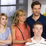 Emma Roberts, Jennifer Aniston, Will Poulter and Jason Sudeikis in We're The Millers