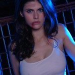 Alexandra Daddario doesn't get to show off this sexy side in Percy Jackson. Pity!