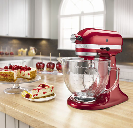 A Stand Mixer You Say Yes Indeed It S As Shiny And Striking Those Fancy Espresso Machines Find At High End Retail