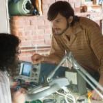 Ashton Kutcher and Josh Gad in JOBS