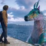 Tyson and the Hippocampus in Percy Jackson: Sea of Monsters