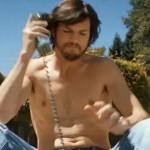 Ashton Kutcher as Steve Jobs in the movie JOBS