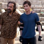 Stanley Tucci and Logan Lerman in Percy Jackson: Sea of Monsters