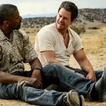 Denzel Washington and Mark Wahlberg in 2 Guns